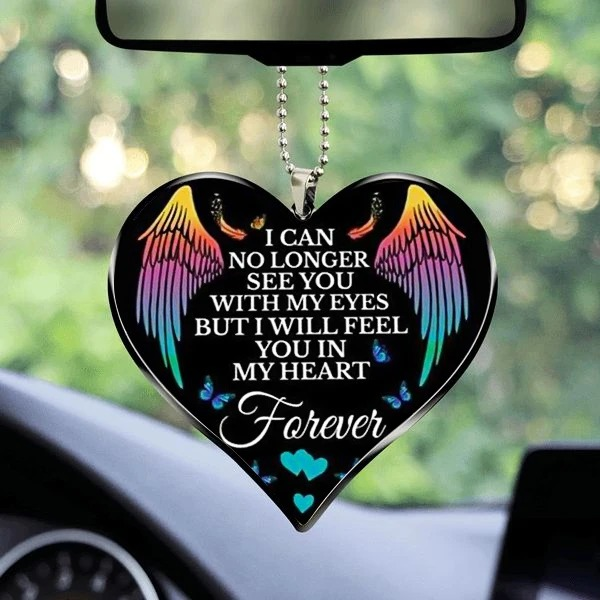 Memorial I Will Feel You In My Heart Ornament