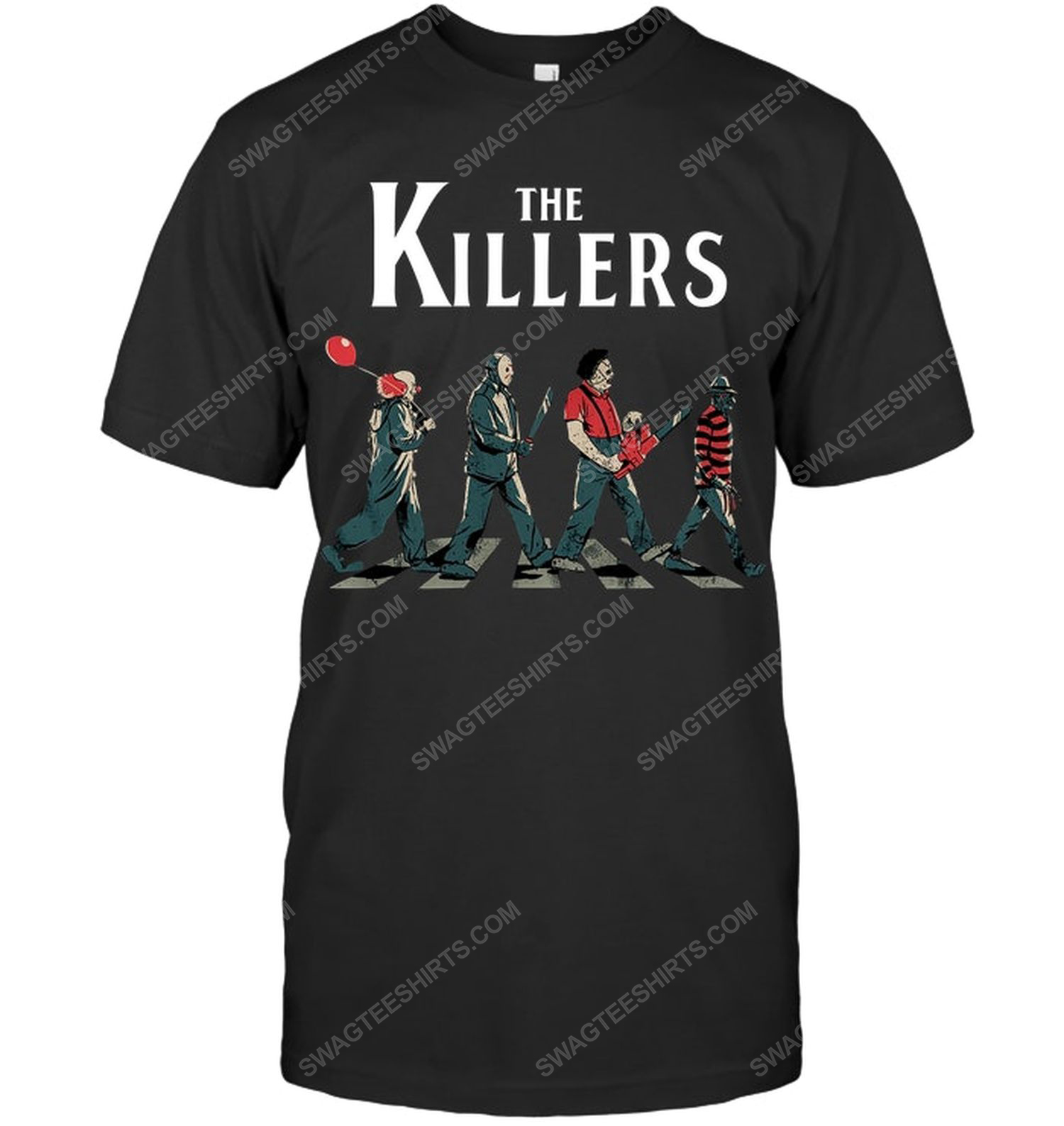 Abbey road the killers for halloween shirt