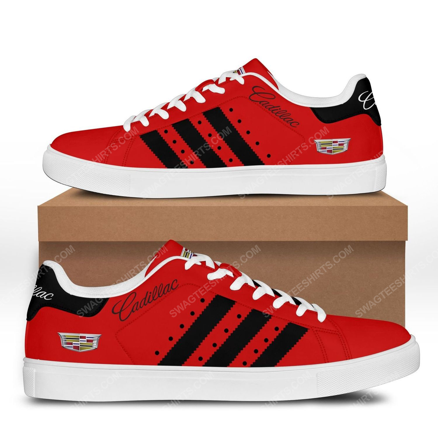 Cadillac car version red stan smith shoes 1