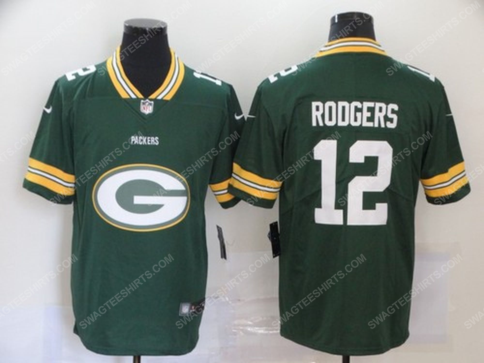 Custom name the green bay packers nfl football jersey