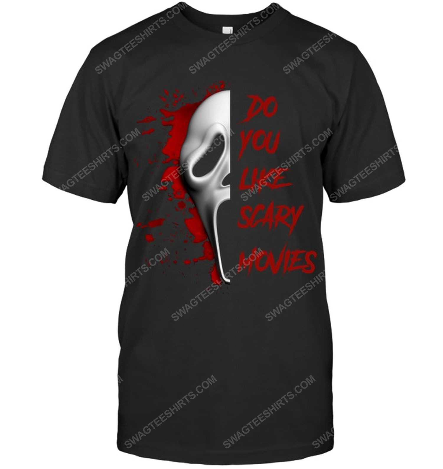 Do you like scary movie the scream ghost face for halloween shirt 1