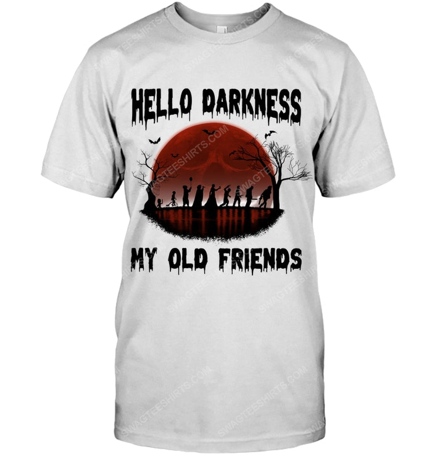 Hello darkness my old friends for halloween night shirt