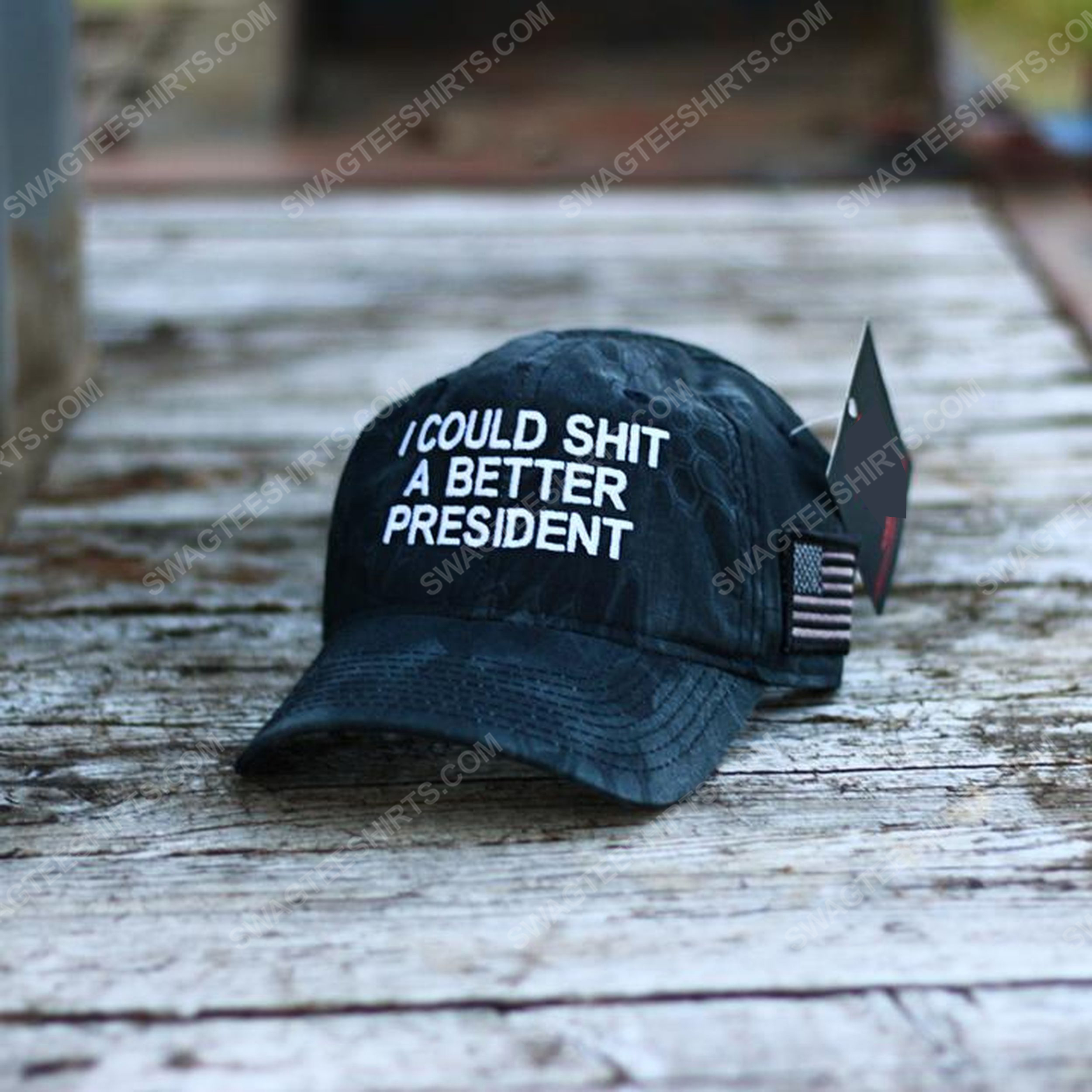 I could shit a better president full print classic hat 1