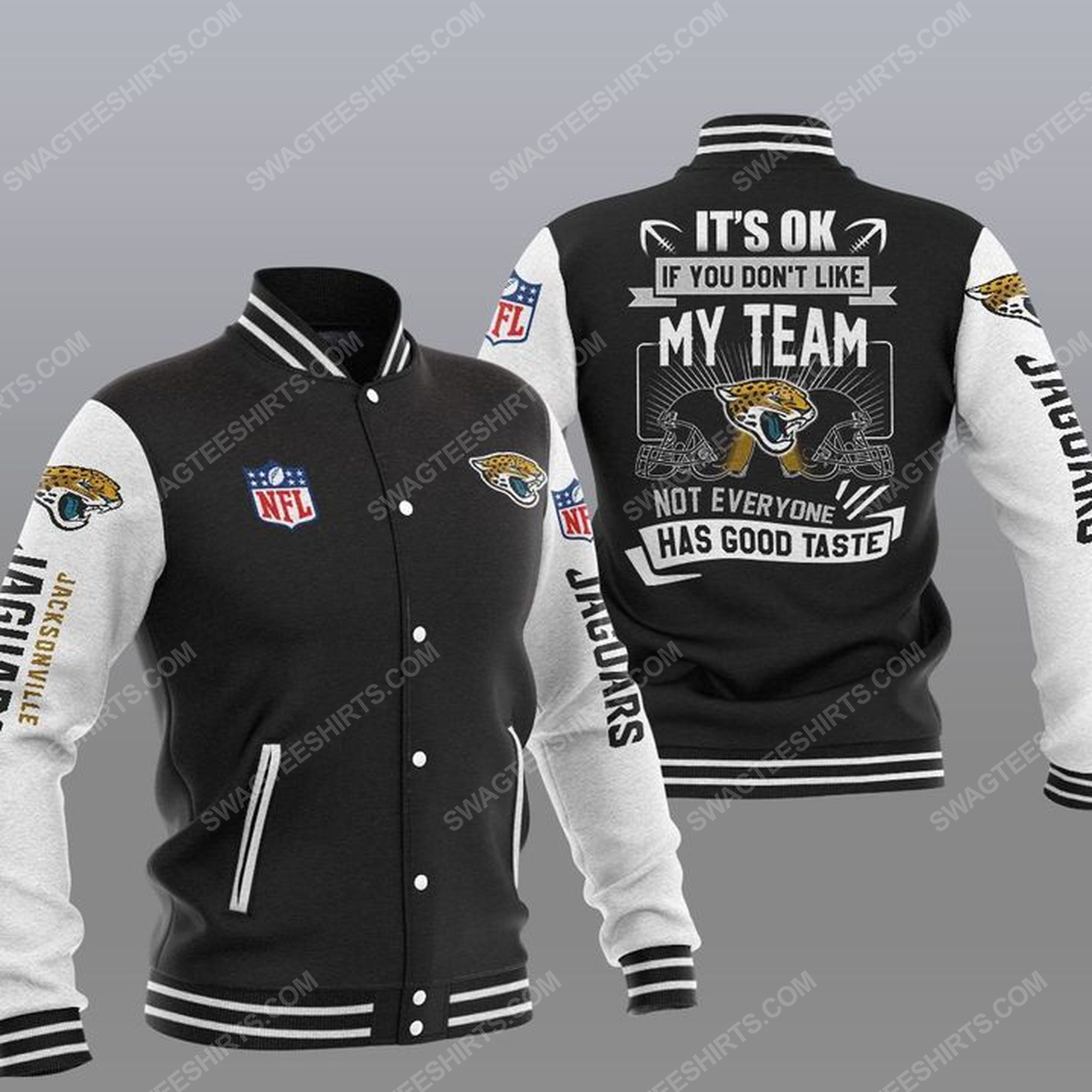 It's ok if you don't like my team jacksonville jaguars all over print jacket