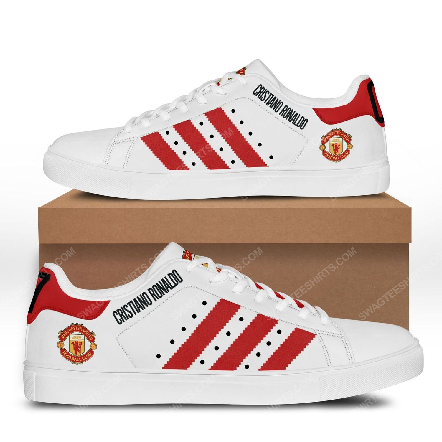 Manchester united cr7 stan smith shoes 3