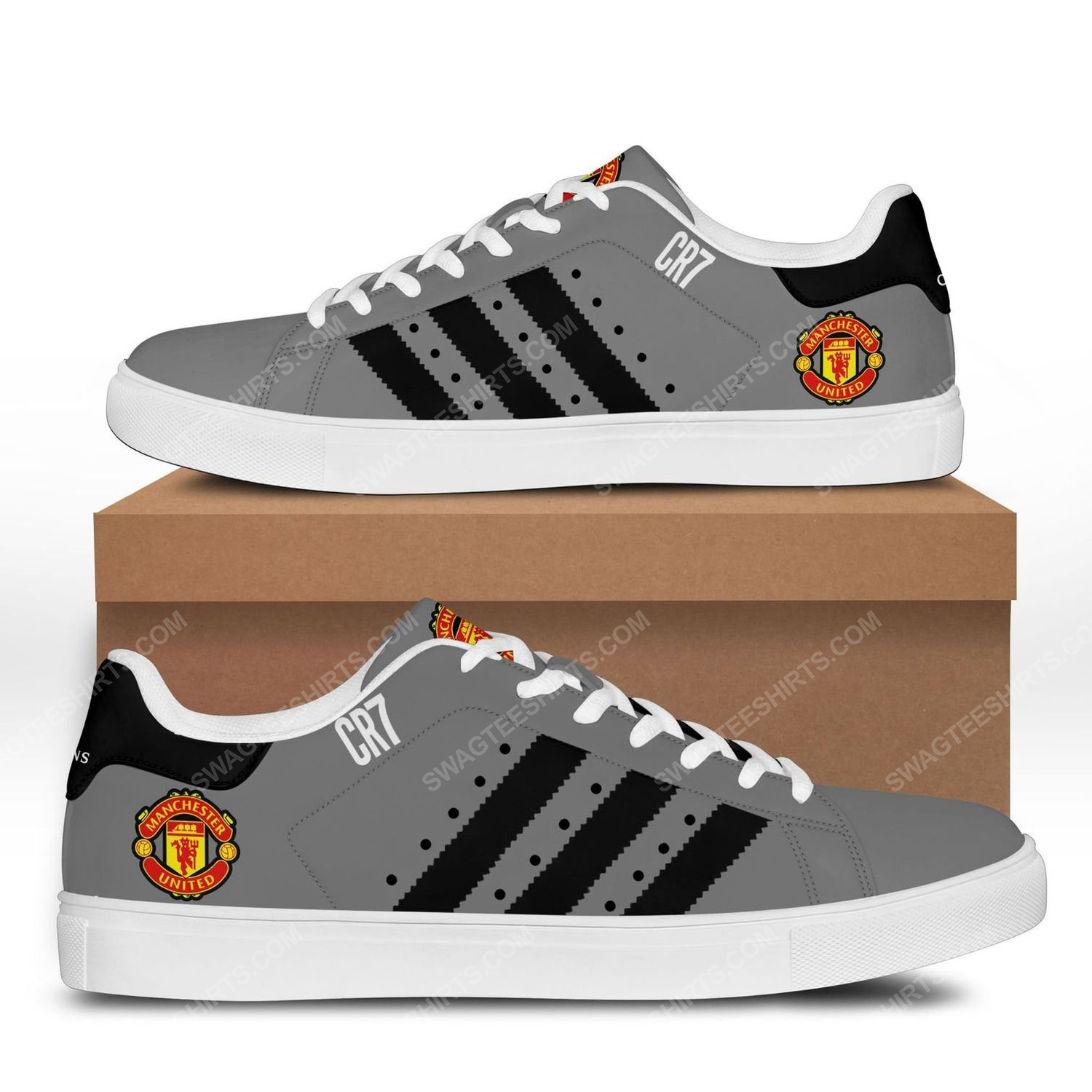 Manchester united football club stan smith shoes 3