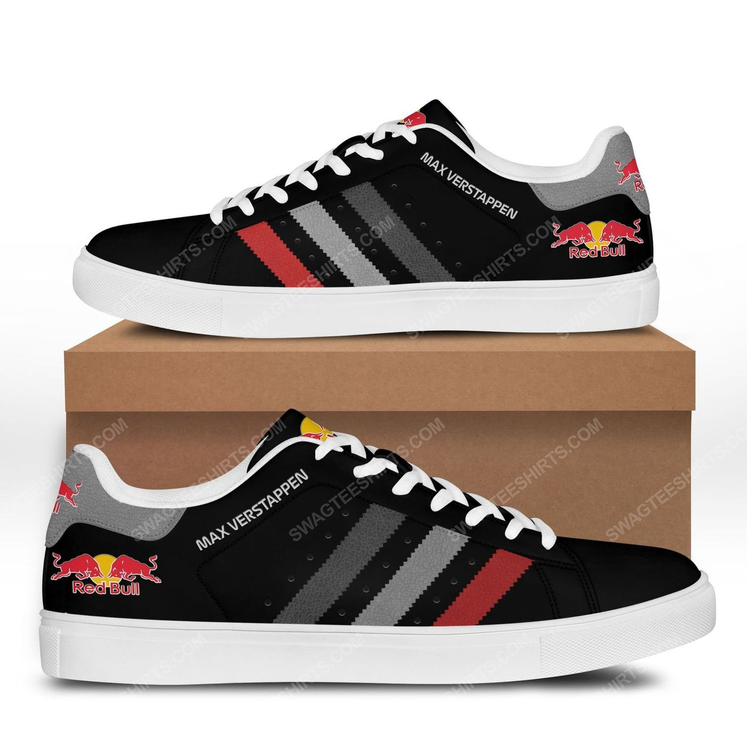 Max verstappen red bull stan smith shoes 3