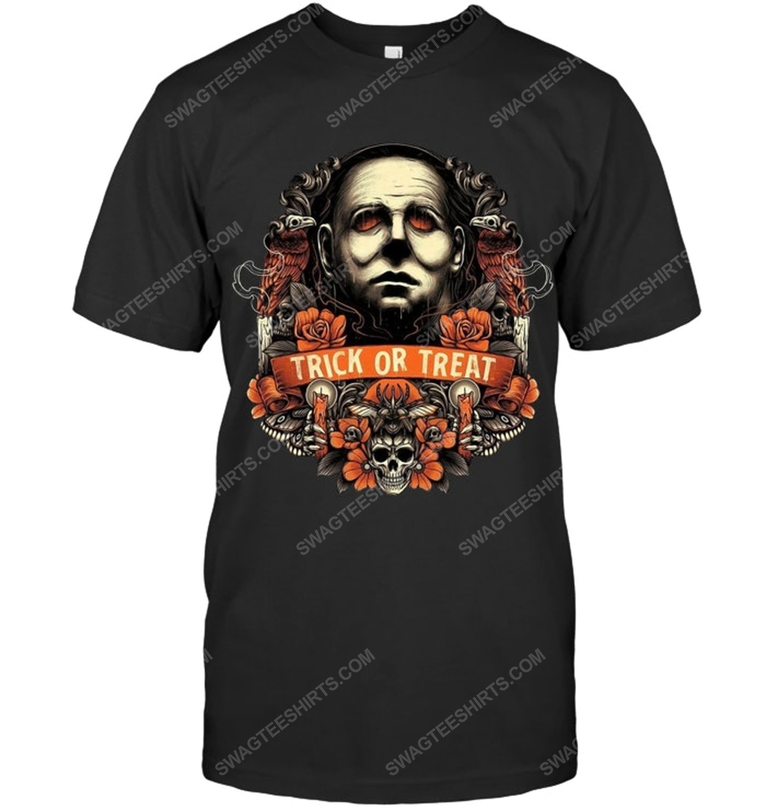 Michael myers trick or treat for halloween night shirt 1