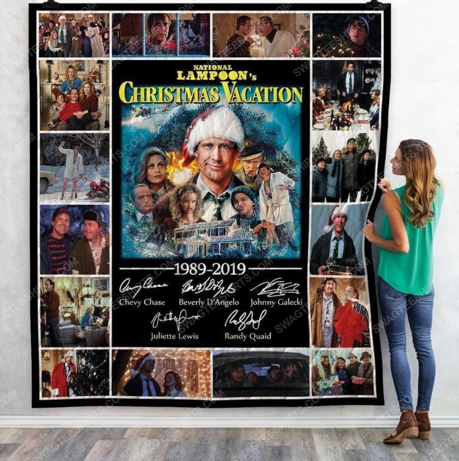 National lampoons christmas vacation blanket 2