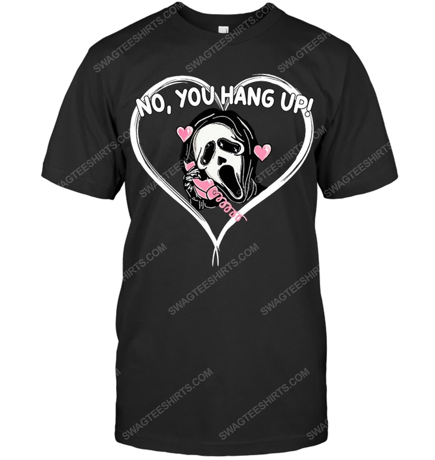 No you hang up the scream ghost face for halloween shirt 1
