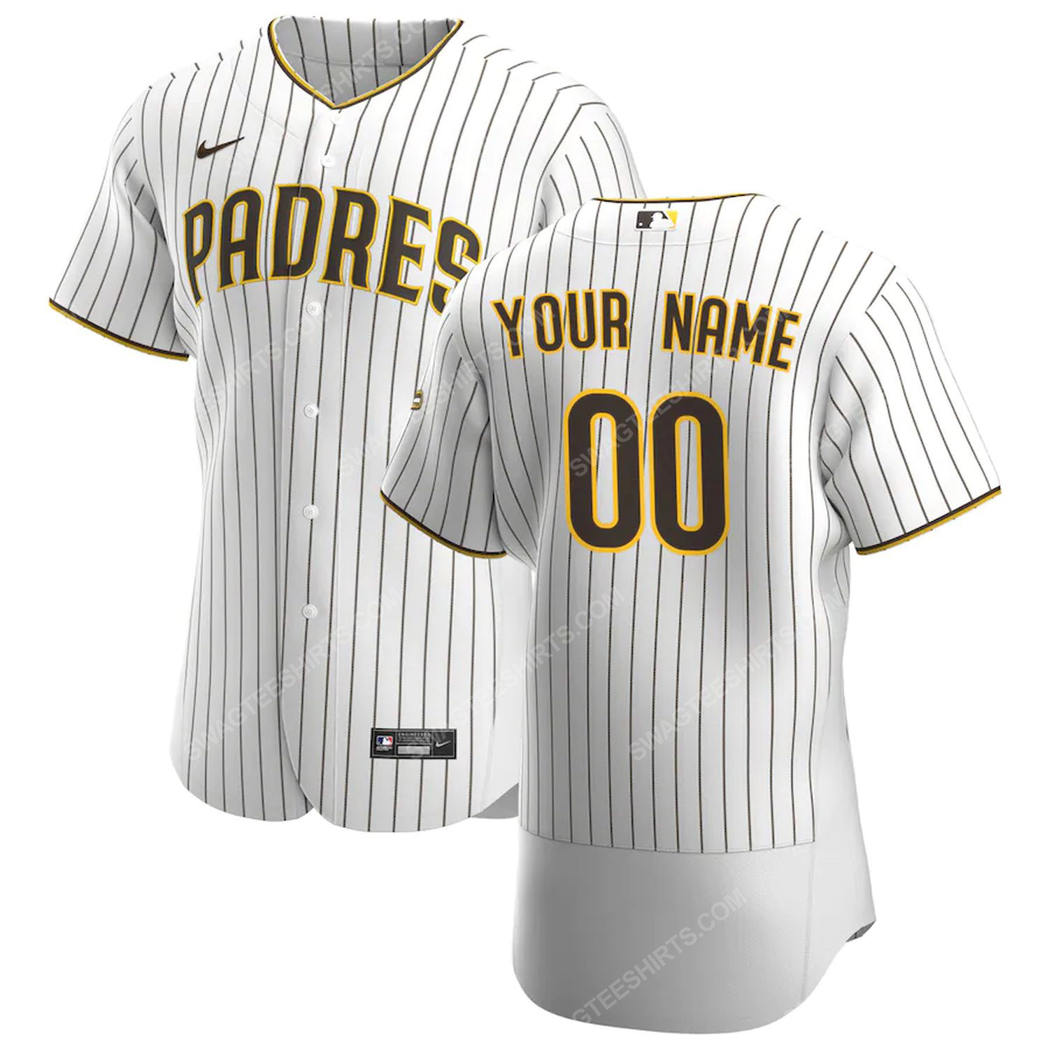 Personalized mlb san diego padres baseball jersey