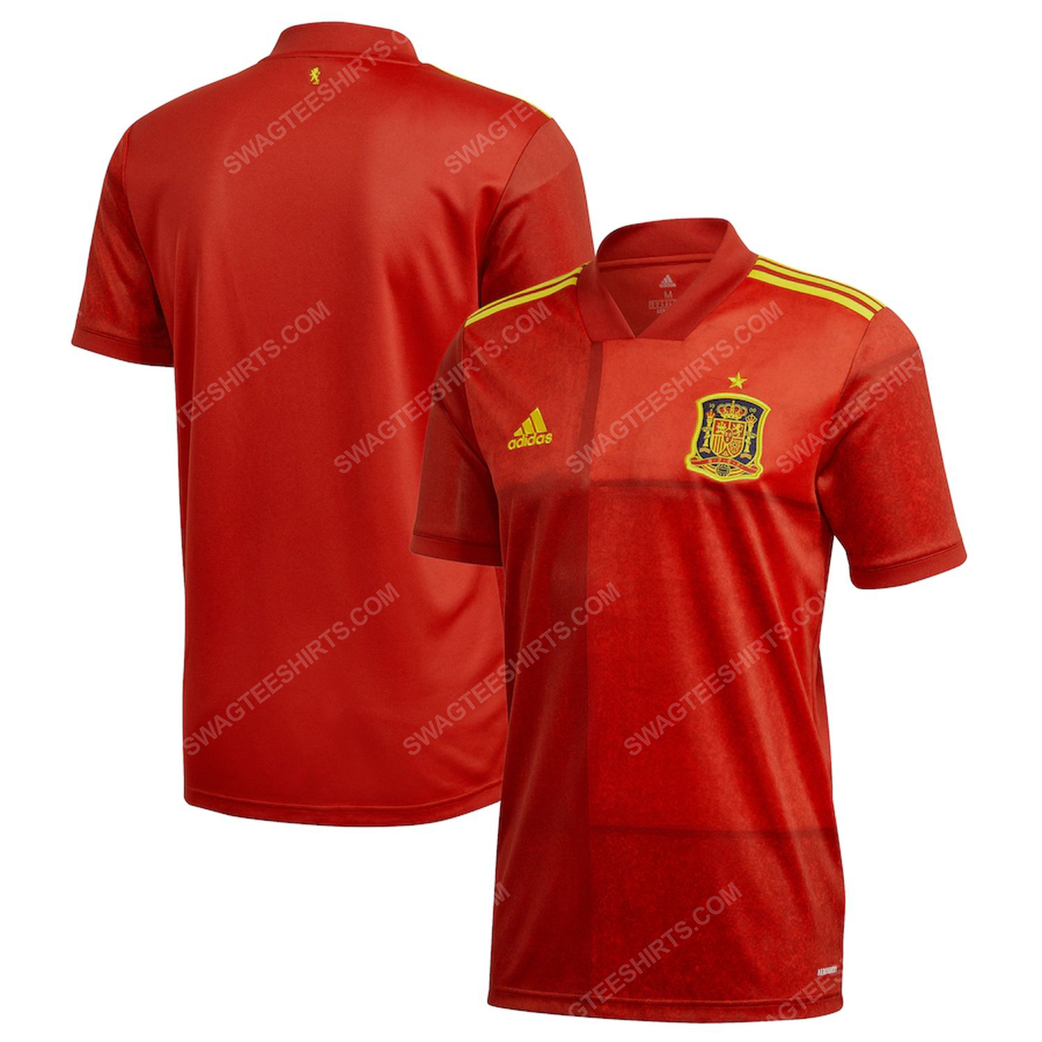 Spain national football team all over printed football jersey