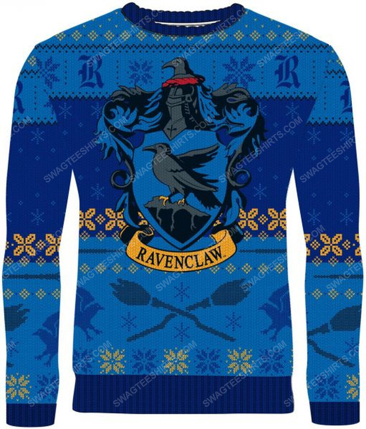 The ravenclaw harry potter full print ugly christmas sweater