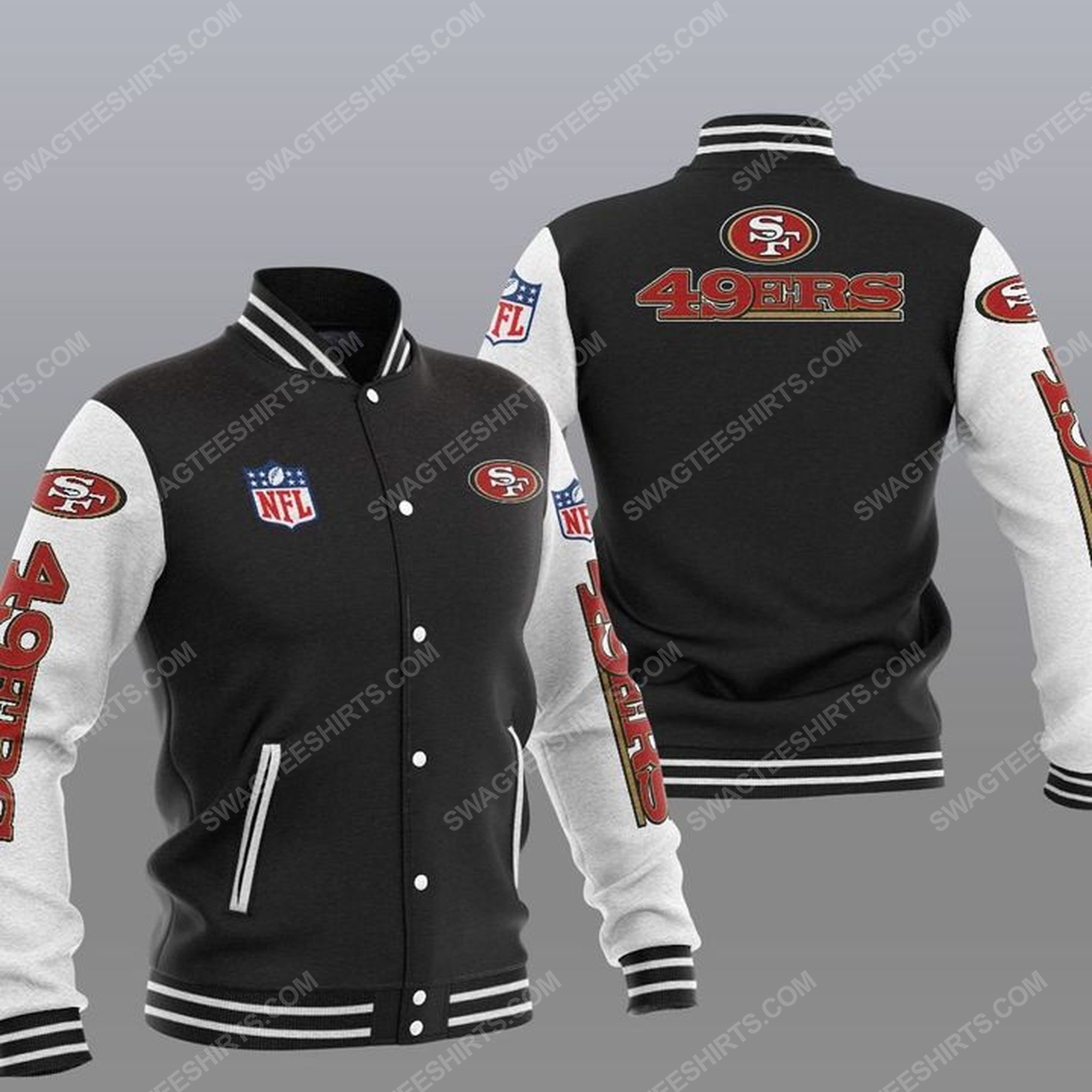 The san francisco 49ers nfl all over print shirt