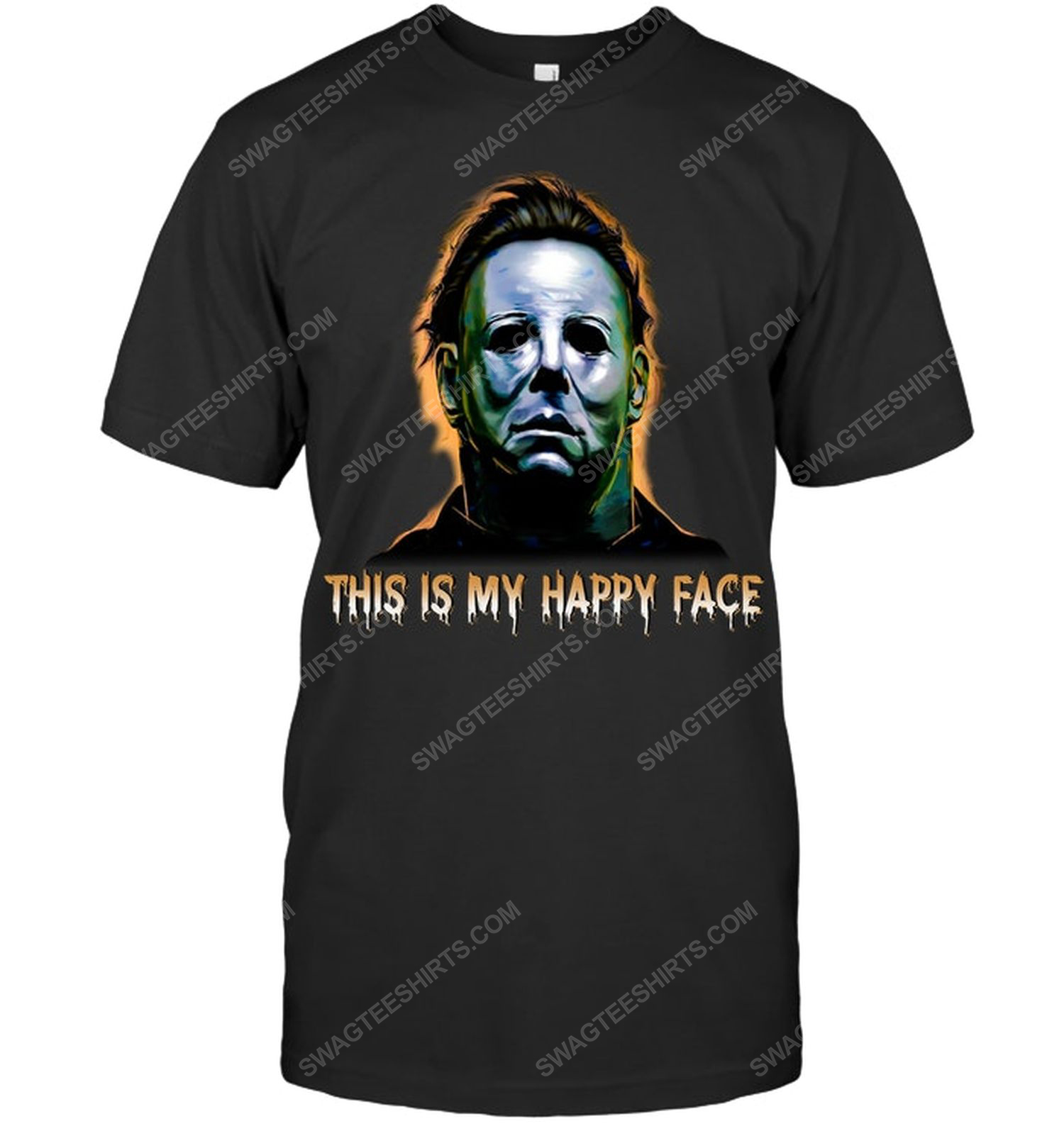 This is my happy face michael myers for halloween shirt 1