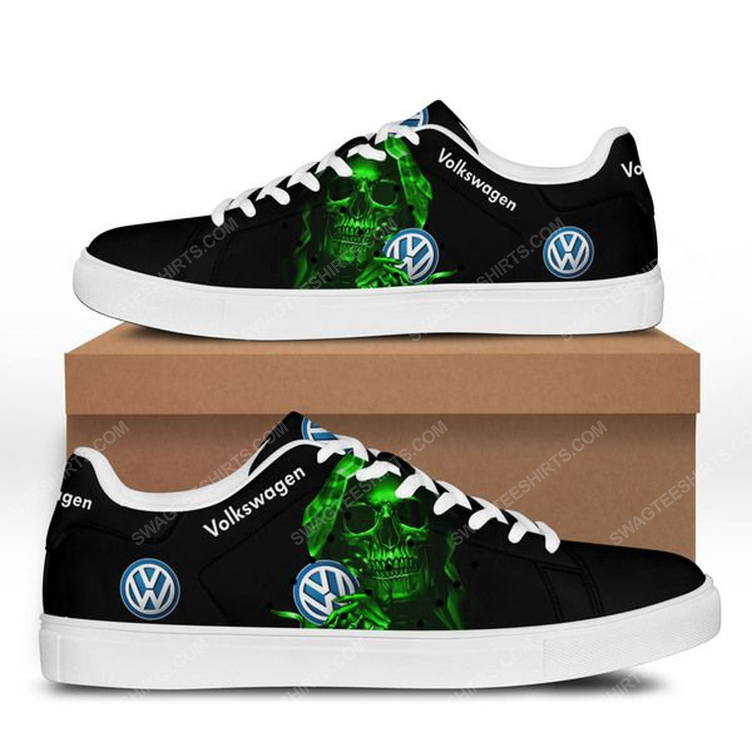 Volkswagen and skull stan smith shoes 3