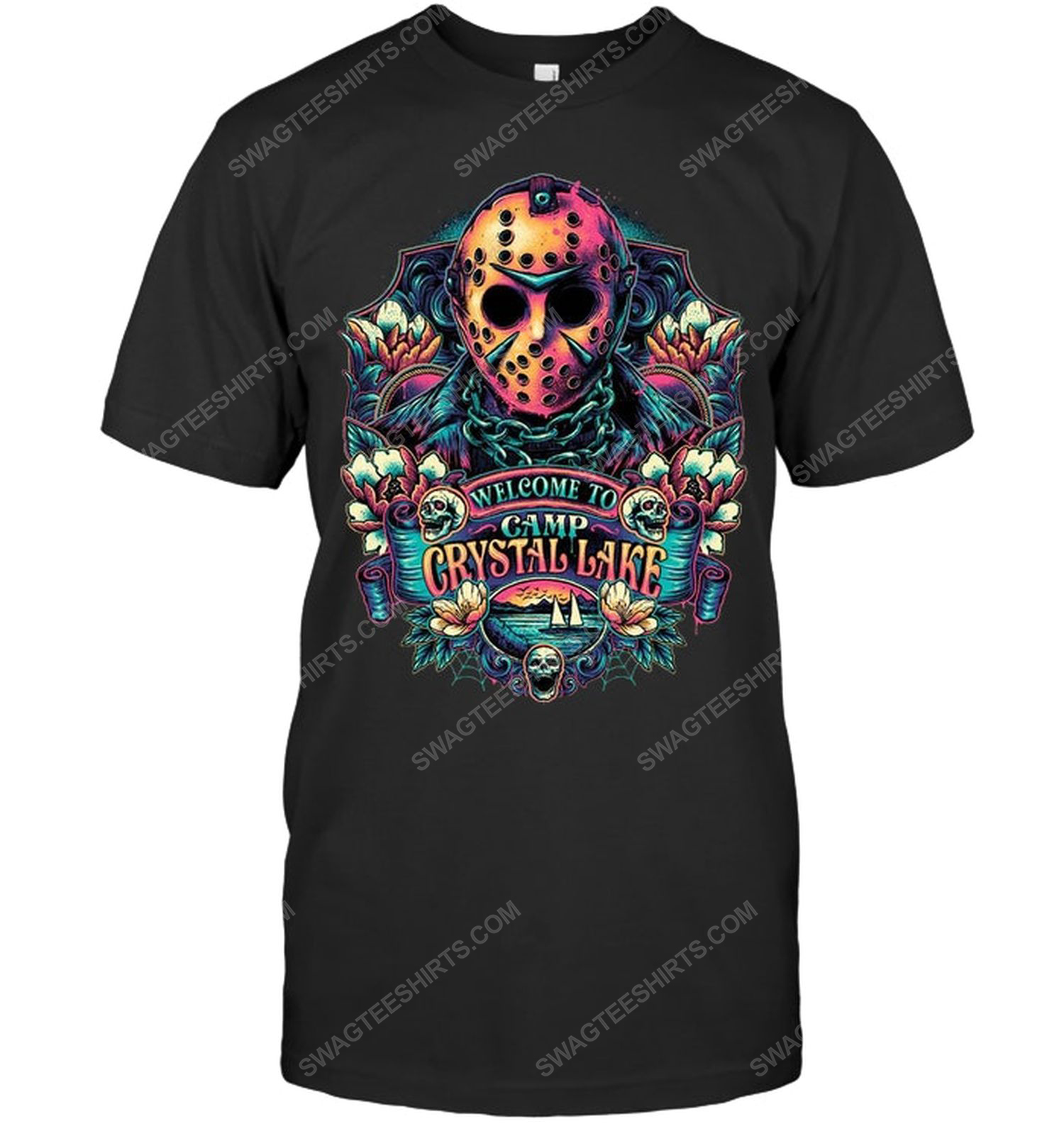 Welcome to camp crystal lake friday the 13th shirt 1