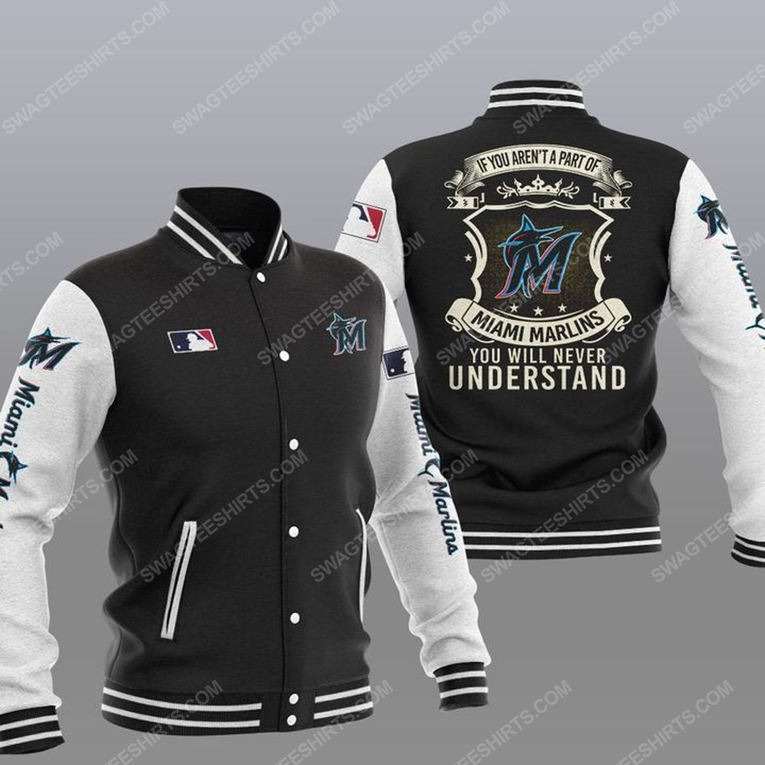 You will never understand miami marlins all over print jacket