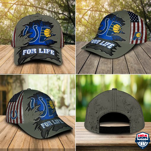 Indianapolis Colts Indiana Pacers For Life Hat Cap